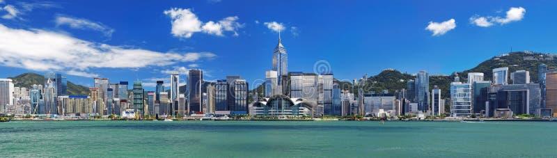 Hong Kong hamn arkivfoton