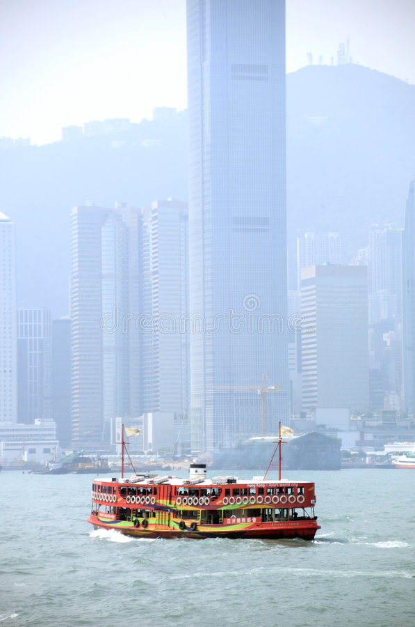 Hong Kong harbour royalty free stock photography