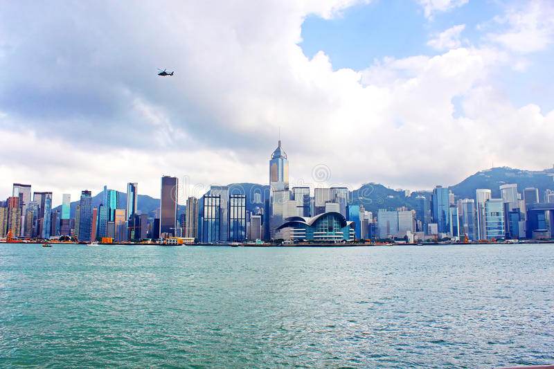 Hong Kong harbour royalty free stock photos
