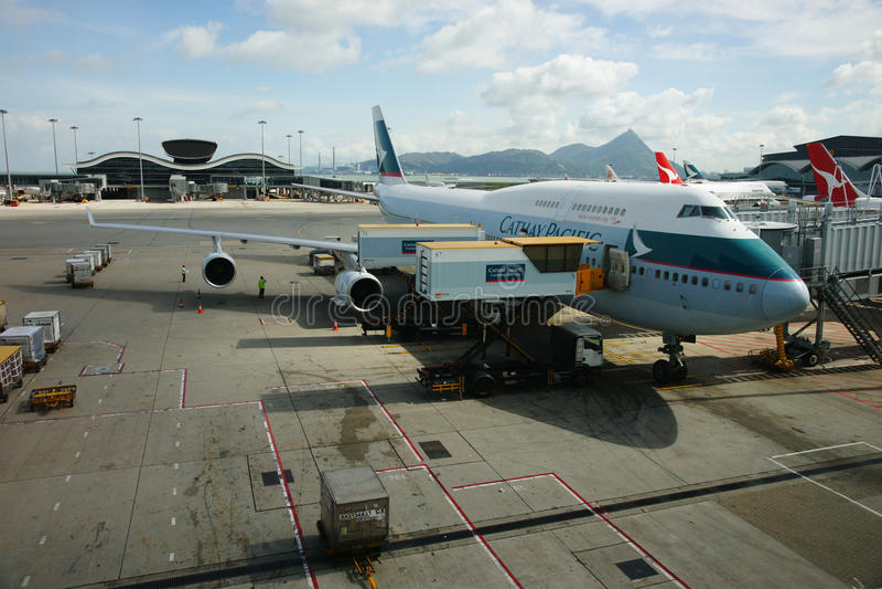 Hong Kong International Airport Editorial Stock Image