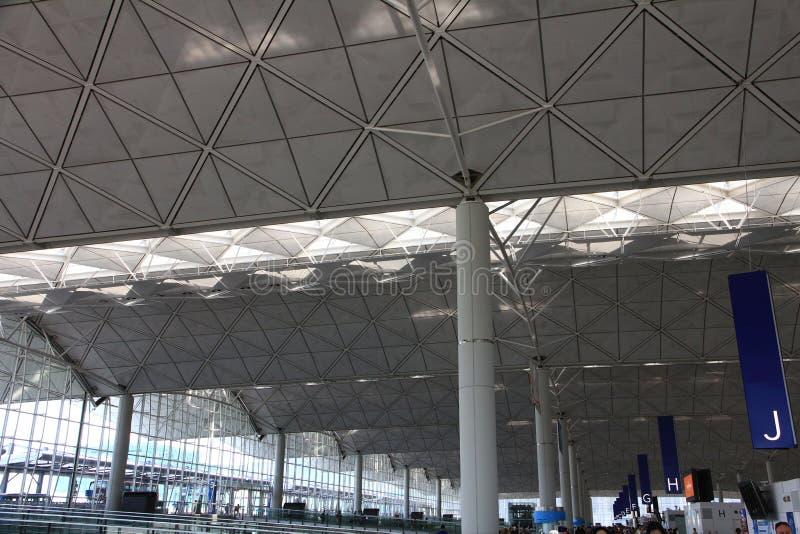 Download Hong Kong International Airport Foto de archivo - Imagen de moderno, techo: 42429904