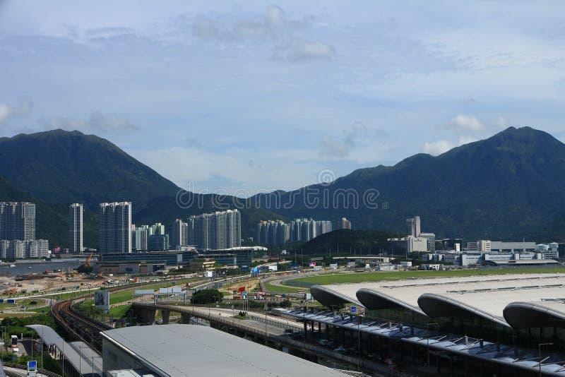 Download Hong Kong International Airport Imagen editorial - Imagen de hong, recorrido: 42429940