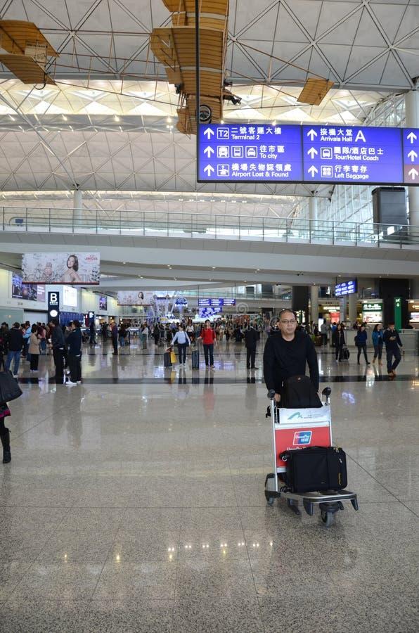 Hong Kong International Airport images libres de droits