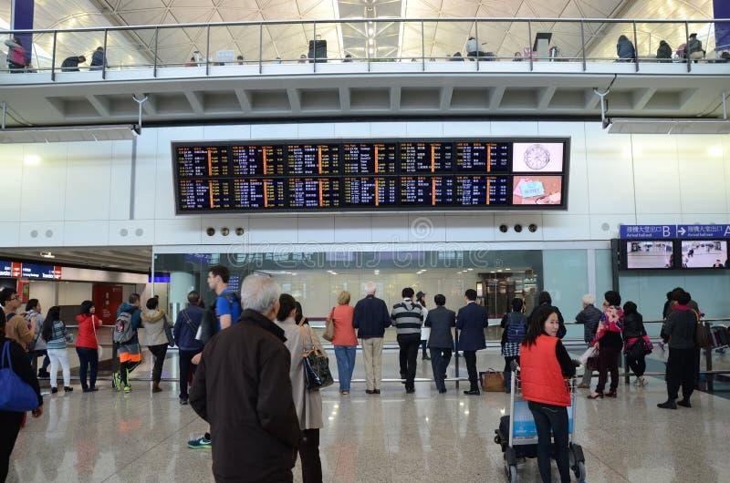 Hong Kong International Airport fotos de stock royalty free