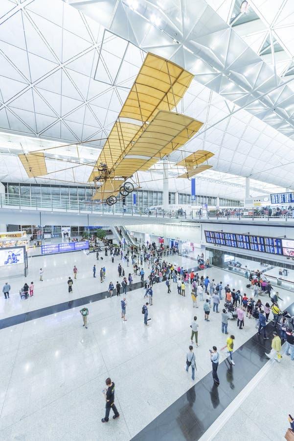 Hong Kong International Airport foto de stock royalty free
