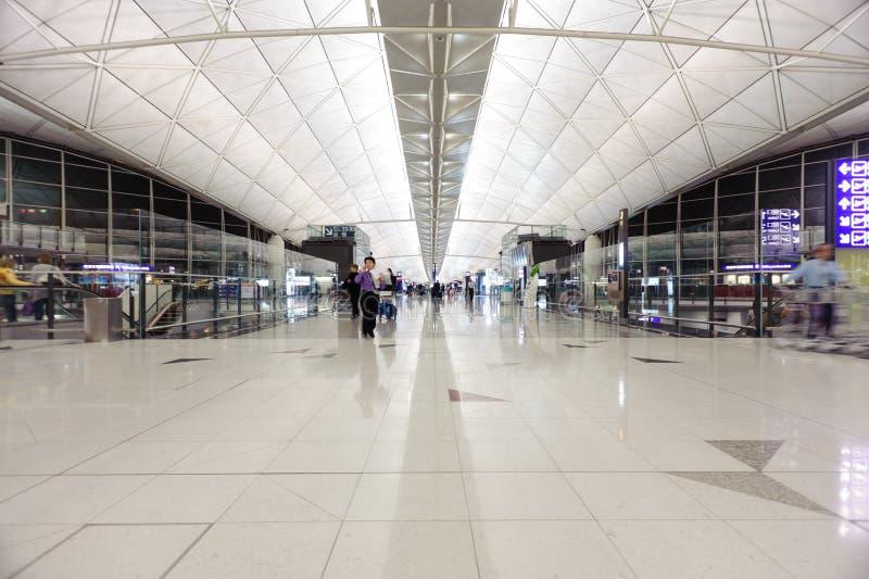 Hong Kong International Airport-Innenraum stockbilder