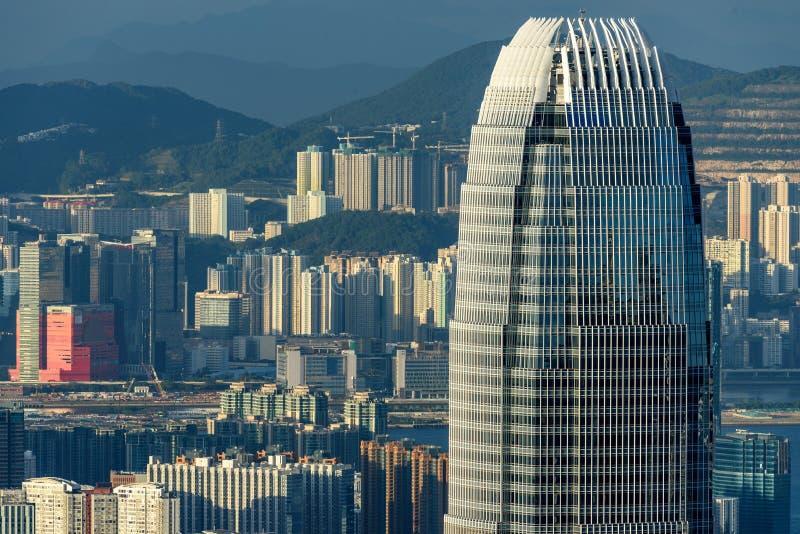 Hong Kong International Finance Centre Editorial Stock