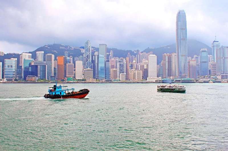 Hong Kong Island stock photography