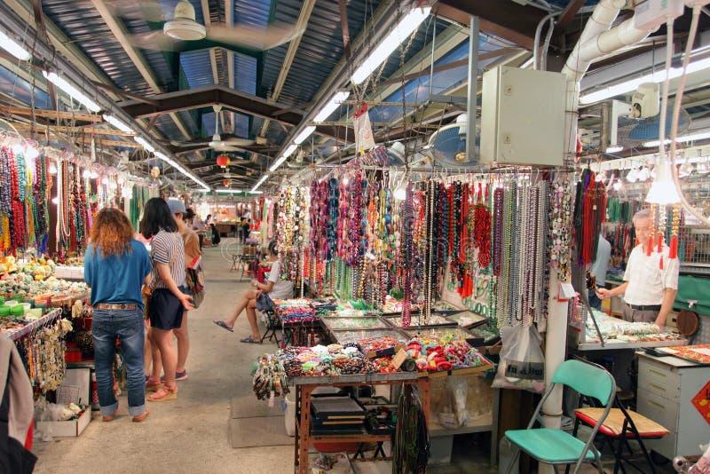 Hong Kong: Jade-Markt lizenzfreie stockfotografie