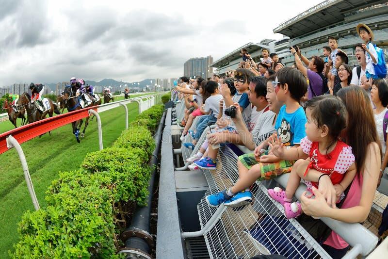 Hong Kong Jockey Clubâ-€™s Vor-Jahreszeit Karneval stockbilder