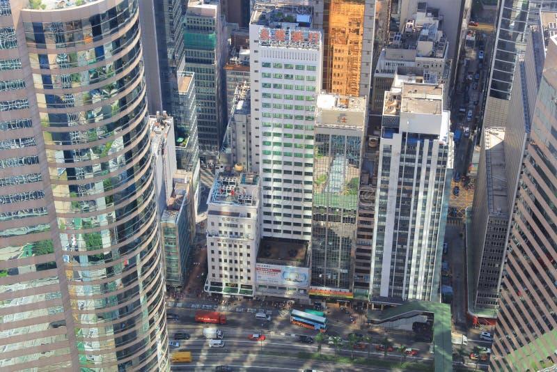 Hong Kong Korporacyjni budynki fotografia royalty free