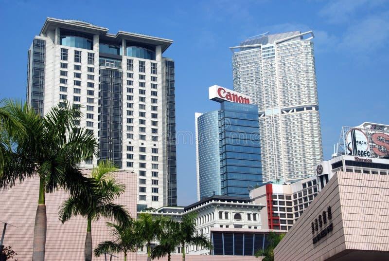 Download Hong Kong: Kowloon Skyline editorial photo. Image of kong - 14383491