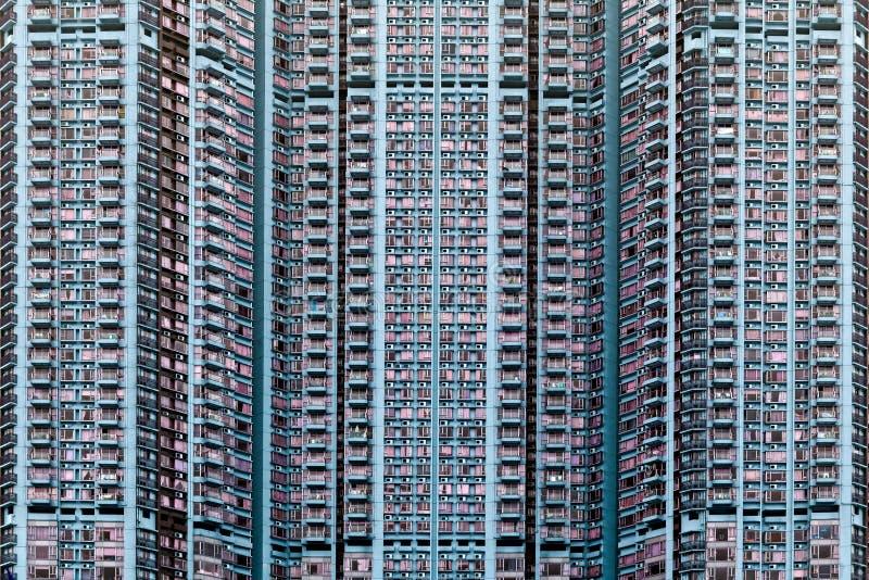 Hong Kong kvarter. arkivbild