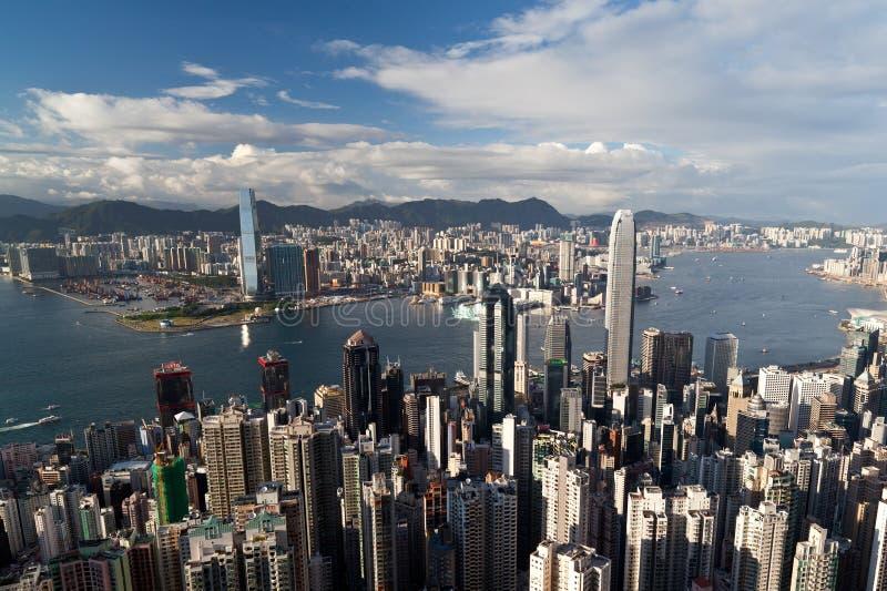 Hong Kong la crête image stock