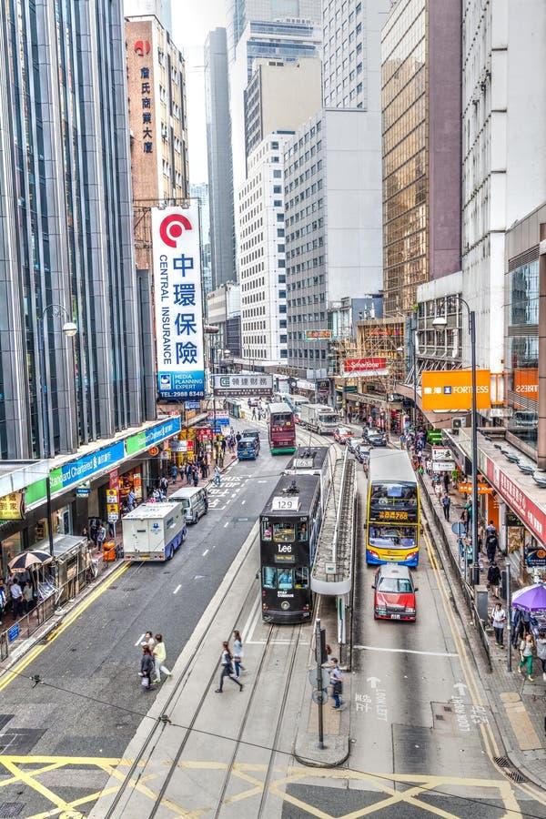 Hong Kong Landmark Central District photo stock