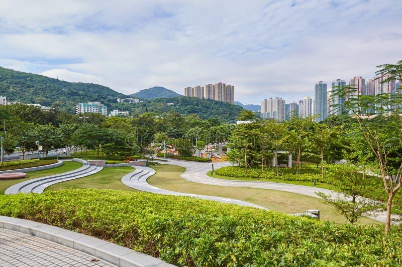 Hong kong landscape royalty free stock photography