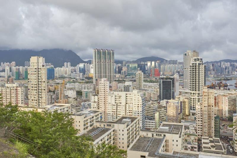 Hong kong landscape stock image