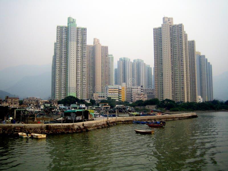 Hong- Kong- Lantau Insel lizenzfreies stockfoto