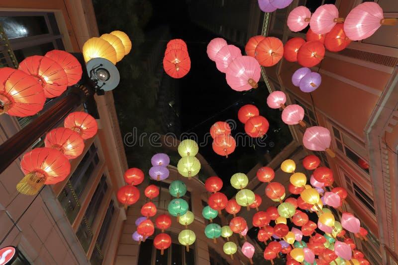 Hong Kong. Lee Tung Avenue at wan chai, 23 Sept 2019 royalty free stock photos