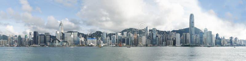 hong kong linia horyzontu obrazy stock