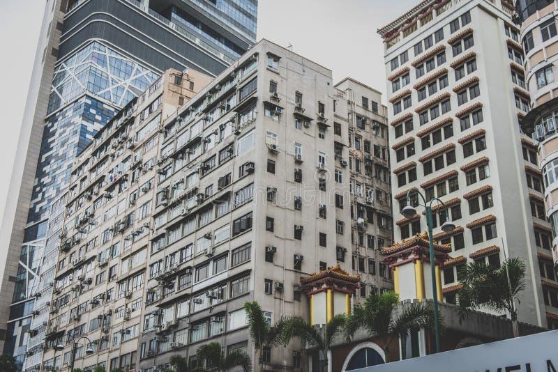 Hong Kong, Listopad 2018 - piękny miasto zdjęcie stock