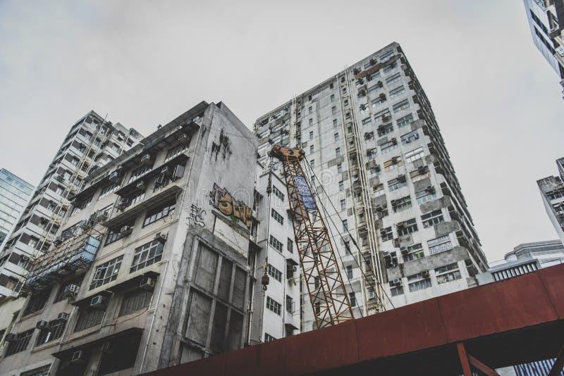 Hong Kong, Listopad 2018 - piękny miasto zdjęcie royalty free