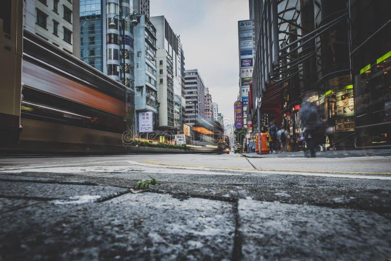 Hong Kong, Listopad 2018 - piękny miasto obrazy royalty free