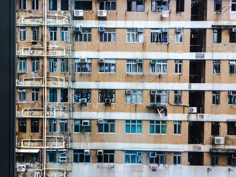 Hong Kong Living fotografia stock libera da diritti