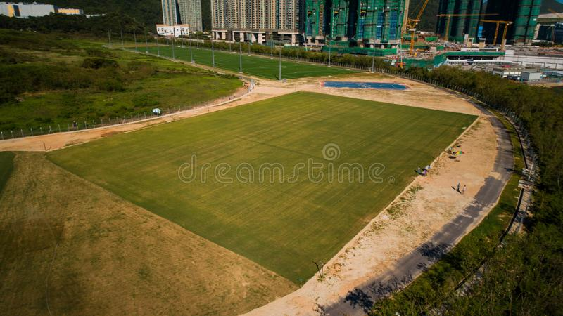 Hong Kong Lohas Park image libre de droits