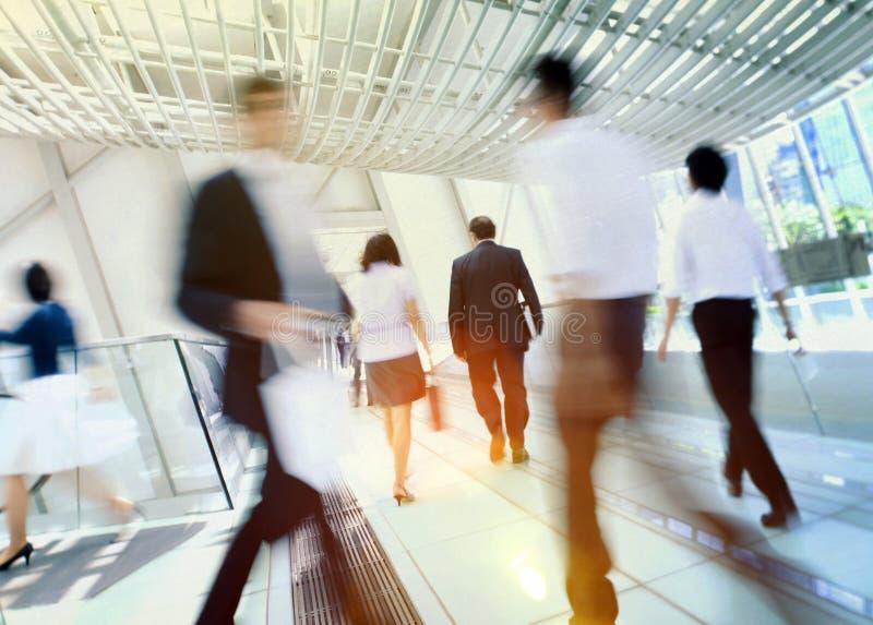 Hong Kong ludzie biznesu Dojeżdżać do pracy pojęcie zdjęcie royalty free