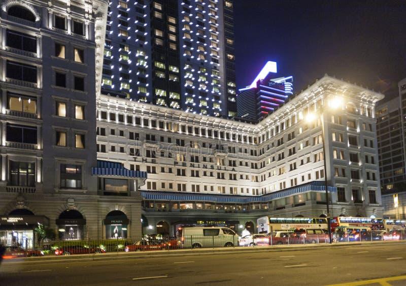 Hong Kong luksusowego hotelu sławny półwysep obrazy royalty free