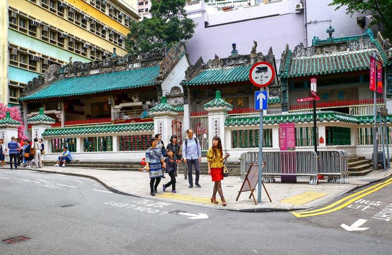 hong kong m??czyzna mo ?wi?tynia zdjęcia royalty free
