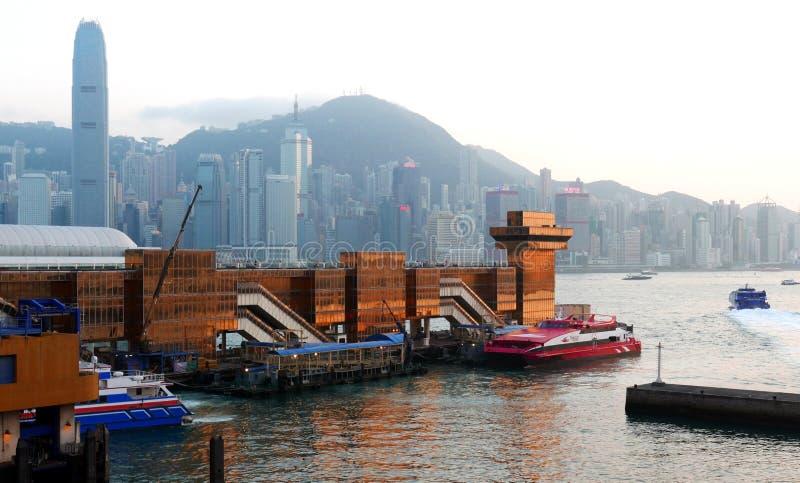 Hong Kong Macau promu Terminal zdjęcia stock