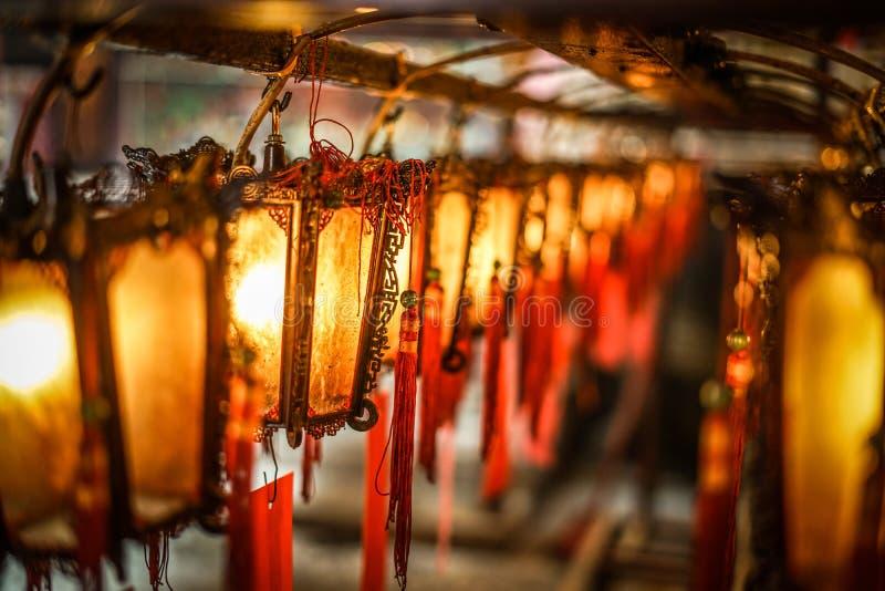 Hong Kong Man Mo Temple royalty free stock photos