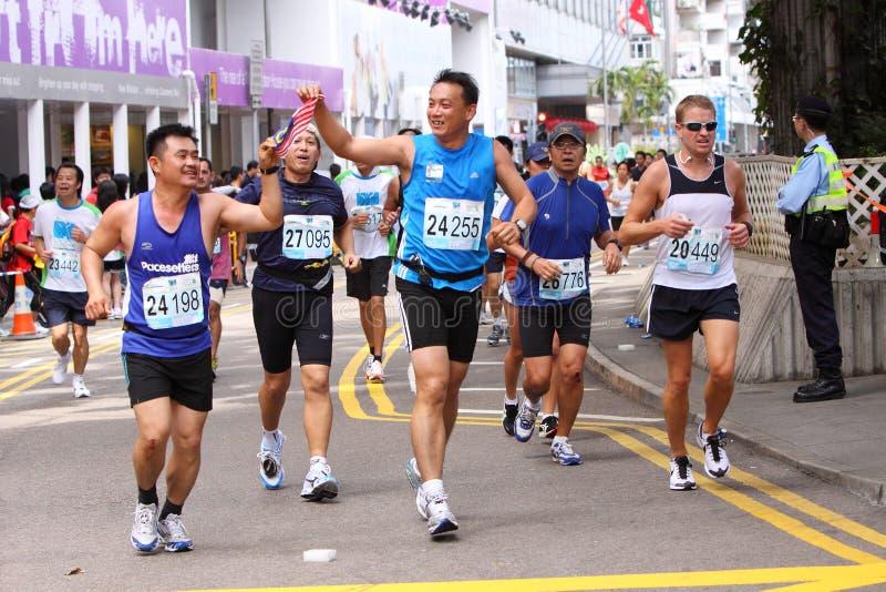 Download Hong Kong Marathon 2009 editorial image. Image of overseas - 8090375