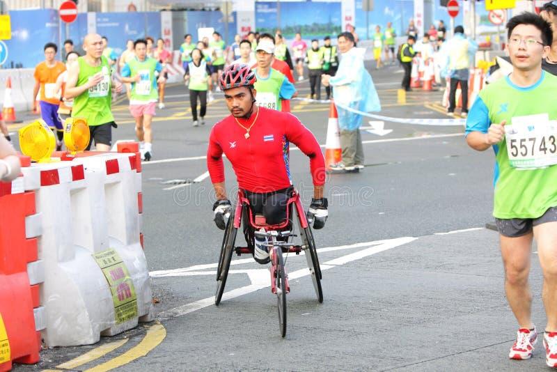 Hong Kong Marathon 2012 royalty free stock images