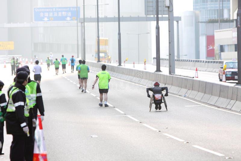 Hong Kong Marathon 2012 Editorial Stock Image