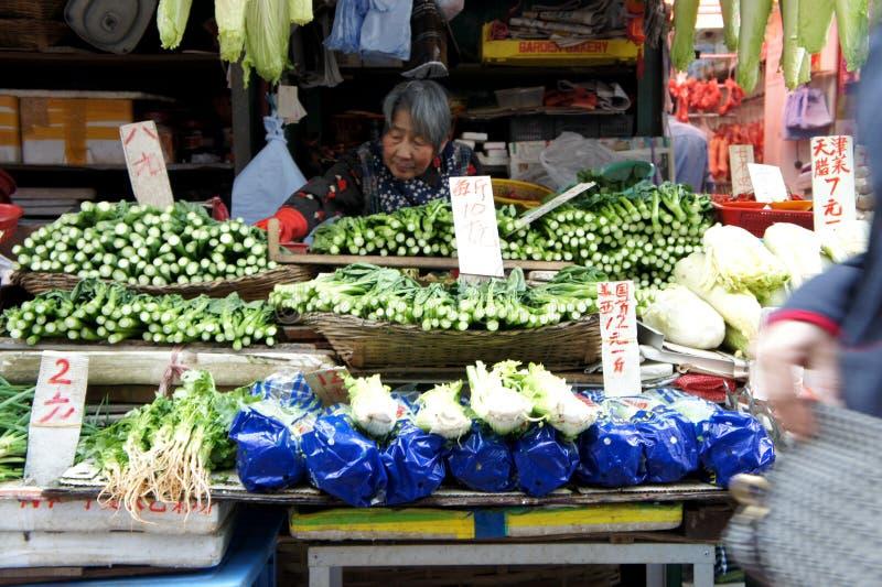 Hong Kong Market stock image