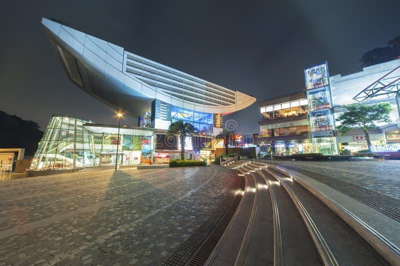 Hong Kong maximumtorn arkivfoton