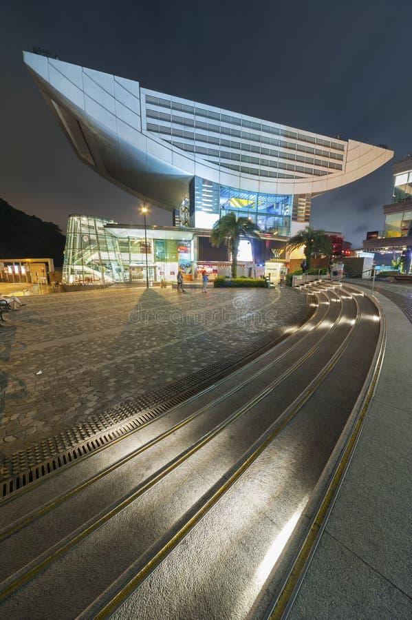 Hong Kong maximumtorn royaltyfri fotografi