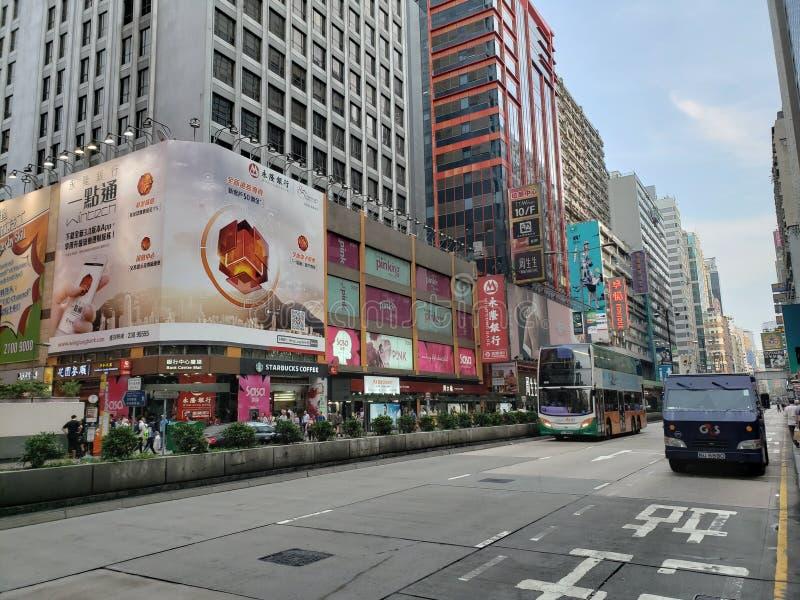 Hong Kong Mong Kok stockbilder