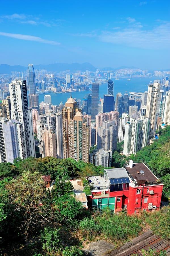 Download Hong Kong Mountain Top View Stock Image - Image: 27041975