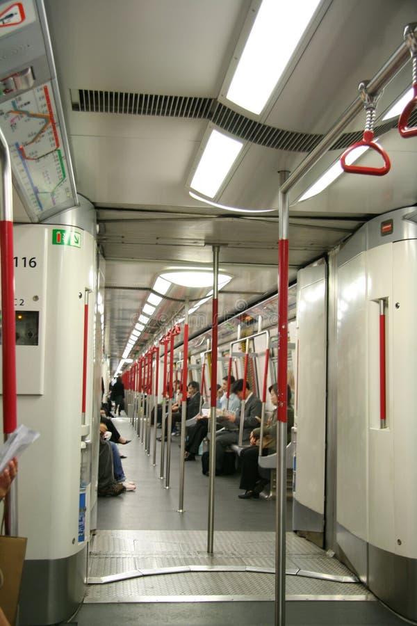 Hong-Kong MTR fotografía de archivo libre de regalías