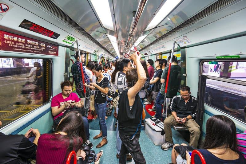 Hong Kong MTR immagini stock