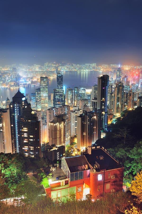 Download Hong Kong at night stock image. Image of reflection, city - 26722771