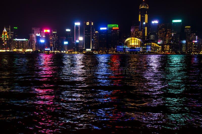 Download Hong Kong at Night editorial photography. Image of building - 83706727