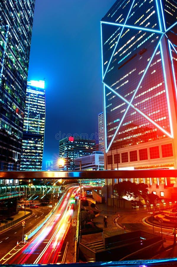 Hong Kong Night View immagine stock