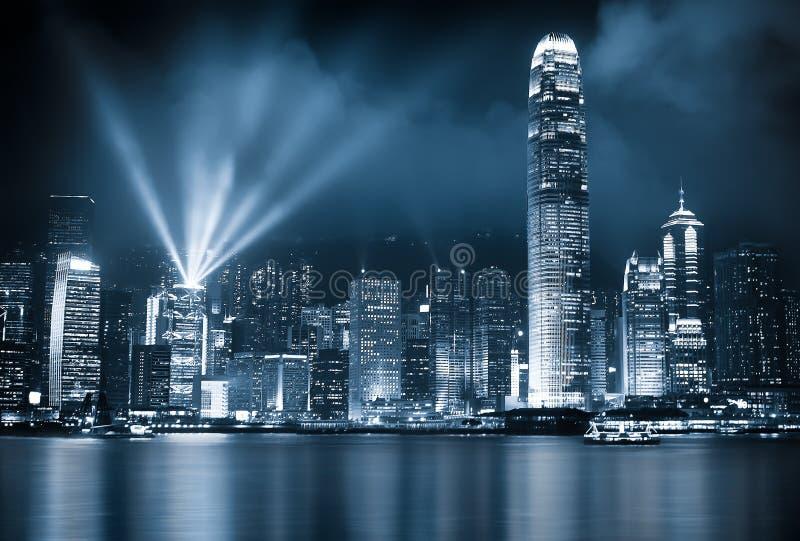 Hong Kong Nights royaltyfri bild