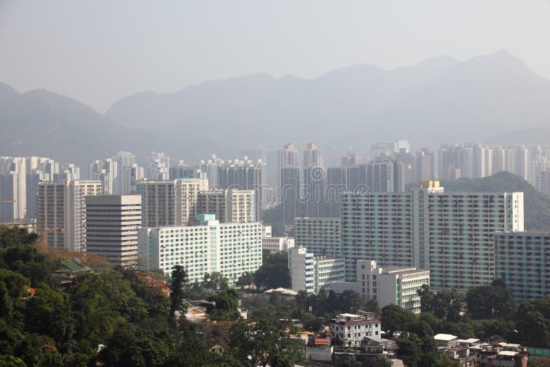 Hong Kong nya territorier royaltyfri fotografi