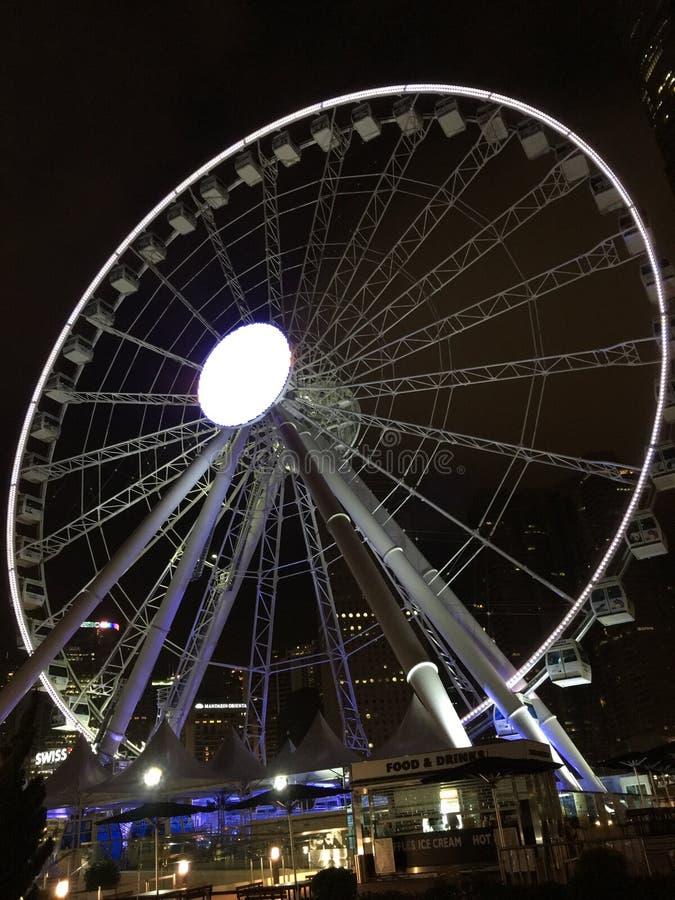 Hong Kong observationshjul royaltyfri foto